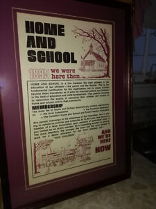 Home and School 1895 picture - New Price