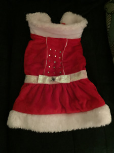 Dog Outfit -Merry & Bright (M)  10-15 lb