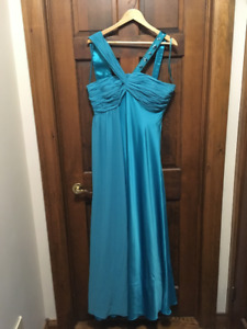 Blue/Teal Prom/Bridesmaid/Formal Dress XL - NEVER WORN