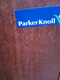 Small Parker Knoll bookcase