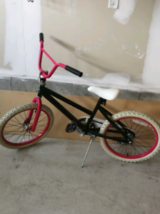 Girls bmx, for ages 7-10 years of age