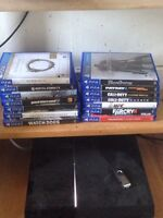PS4 (Mint) 15 AAA Games (All mint condition)