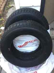 Pair Of Goodyear Winter Tires 225/60/16's