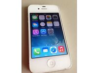 Apple iPhone 4, 16GB, White
