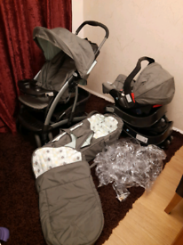 Graco pushchair and car bases