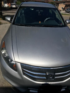 Honda Accord Silver 2011, with Car-proof,  $13500. Selling As is