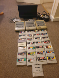SUPER NINTENDO SNES MEGA BUNDLE!