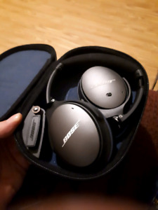 New Bose qc25 noise cancellation  headphones
