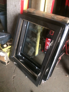 ((( USED COMMERCIAL ALUM AND VINYL WINDOWS )))