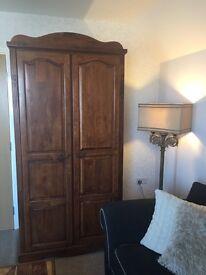 Beautiful large mahogany wardrobe