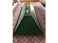 Pool/snooker table light shade