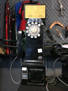 Rotary payphone