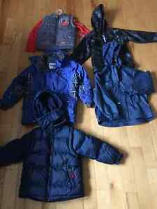 Boys jackets and sweaters