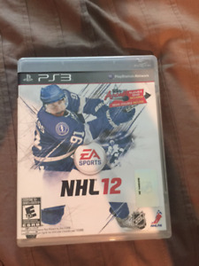 NHL 12 for PS3