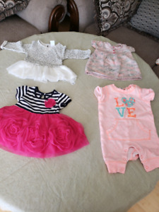 3 to 6 months dresses