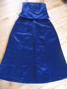 Navy Blue Bridesmaid Dress - size 12