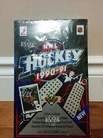 Upper Deck NHL Hockey Cards 1990-91 Box - IN ORIGINAL WRAP