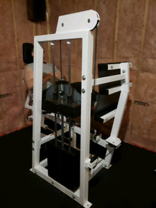 Seated leg press/hip sled/calf raise machine for sale