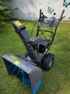 Yardworks 24 inch Snowblower Almost New