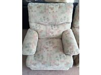 2 seater sofa & 2 chairs - free!