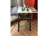 Evolution fury 5 saw table and stand