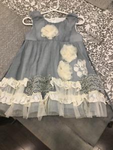 Designer Girls Dress- Size 18 months