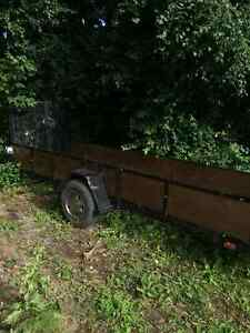 Utility trailer 4 x14 ft great for 2 atvs Kingston Kingston Area image 4
