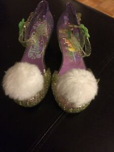 New Girls size 11/12 Tinkerbell dress up shoes