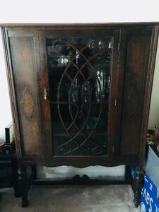 Knetchel antique china cabinet