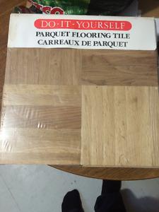 16 packs parquet flooring