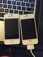 2 iPhone 4 for sale - Cheap