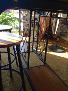 Pub Style Dining Table with Wine Rack Base. Kingston Kingston Area image 3