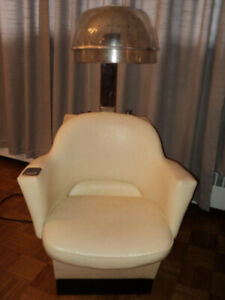 VINTAGE HAIR DRYER SALON CHAIR - 1960's