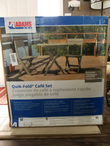 Outdoor cafe set