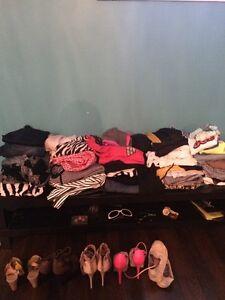 Clothes and shoes 100$ bundle