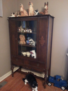 SOLID  WOOD  HUTCH   ..   VINTAGE