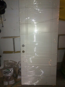 Unused Ostaco Fiber glass exterior door