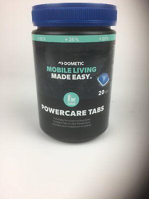 Waeco Dometic Powercare Tabs +25% Más 1x 20 Piezas Thetford Wc Aditivo