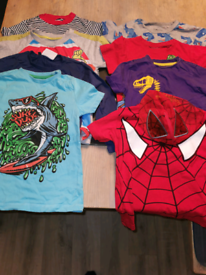 Boys clothes 3 - 4 age t shirt bundle