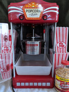 Popcorn Maker with Accessories - Works Great