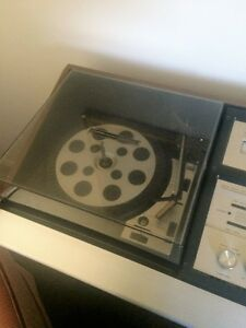 record player,caset player,8 track player and speekers.