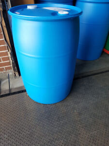 55 gal food grade large drums