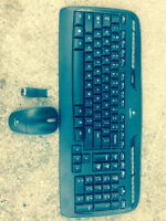 Never used Logitech wireless keyboard and mouse