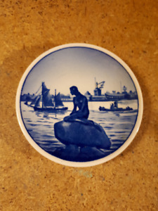 Miniature Plate Langelinie Little Mermaid