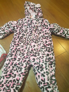 3 -6 months girls snowsuit