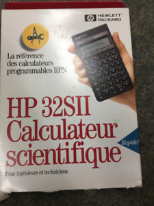 Calculator- HP 32SII Engineering Special