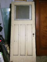 Antique Solid Wood Exterior Entry Doors