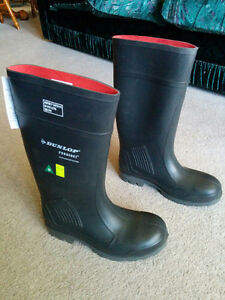 Dunlop Rubber Steel Toe Work Boots London Ontario image 1