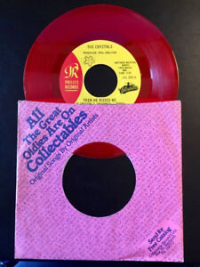 "Crystals/Alley Cats ""THEN HE KISSED ME"" Red Vinyl 7"" 45 (1992)"