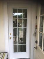 REPLACEMENT of any Exterior door; Entry Door, STORM DOORS & TRIM